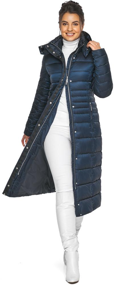 Сапфировая куртка женская комфортная модель 43575
