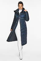 Сапфировая куртка женская комфортная модель 43575, фото 2