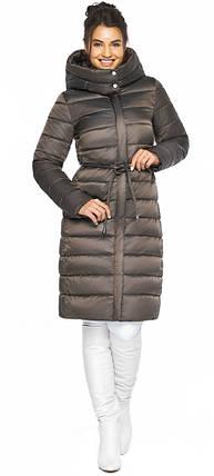 Куртка з капюшоном жіноча колір капучіно модель 44860, фото 2