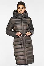 Куртка с капюшоном женская цвет капучино модель 44860, фото 2