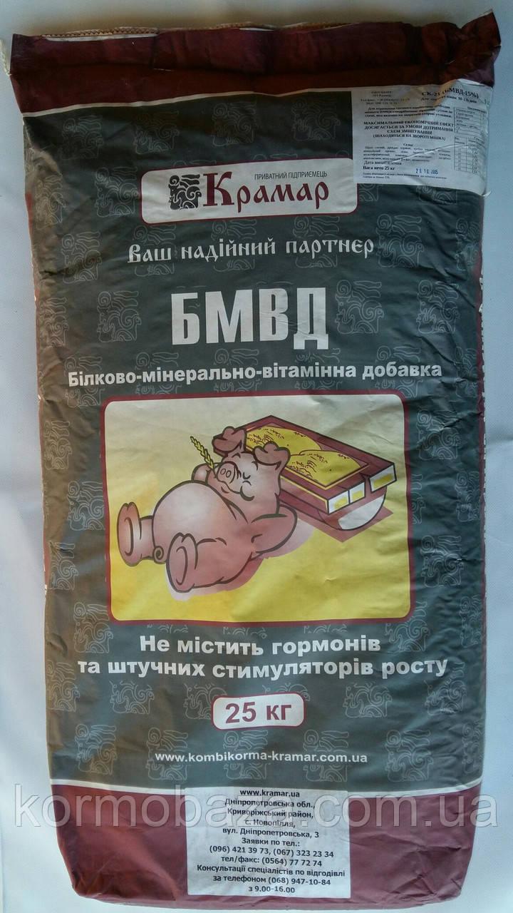 Добавка БМВД для свиней финиш 137-180 дней Крамар СК-31 10%
