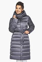 Сріблясто-сіра куртка жіноча стильна модель 44860, фото 2