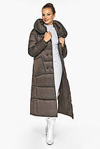 Куртка женская с накладными карманами цвет капучино модель 46150, фото 2