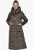 Куртка женская с накладными карманами цвет капучино модель 46150, фото 3