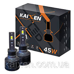 Світлодіодні лампи H1 KAIXEN K7 (45W-6000K-CANBUS)