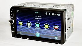 Автомагнитола Mirror link 8701 Android 8 с Bluetooth Gps TF USB MP3 2DIN с выходом под камеру заднего вида