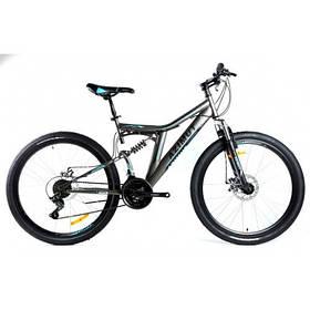 Горный двух подвесной велосипед Azimut Blackmount 26 18 FRD 26-089-N-4
