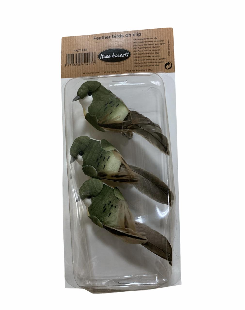 Декоративные птички на прищепке Home Accents