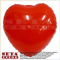 Декор подвесной Сердце надувное виниловое