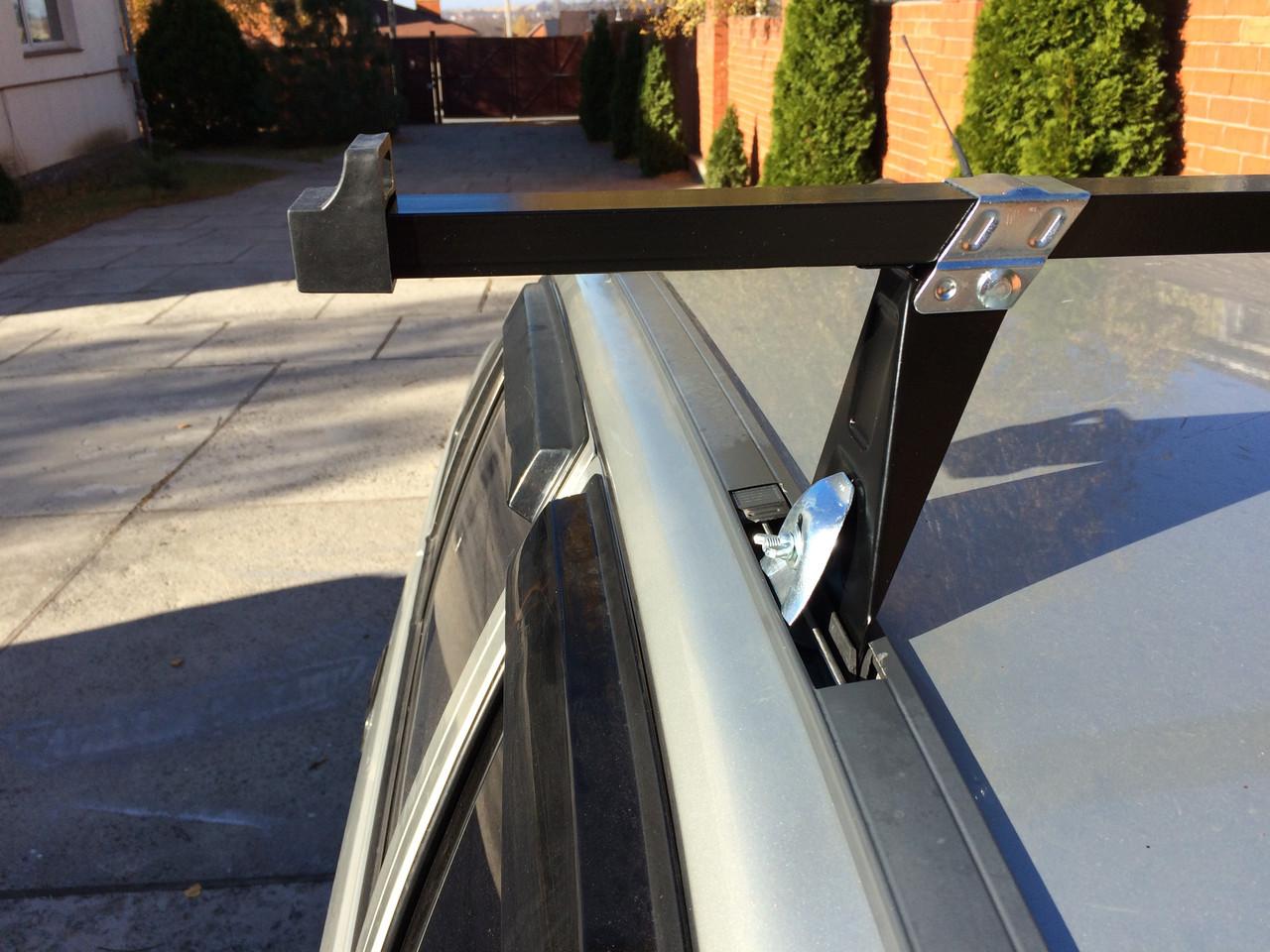"""Багажник мод. Daewoo UNI Nexia в зборі з квадрат. перечиной (1,28 м) """"Кенгуру"""" 2 планки"""
