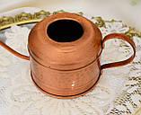 Винтажная медная лейка для цветов, лейка из меди, медь, Германия, винтаж, фото 4