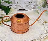 Винтажная медная лейка для цветов, лейка из меди, медь, Германия, винтаж, фото 6