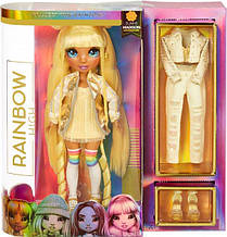 Лялька Мосту Хай Санні Медісон Жовта Rainbow Surprise Rainbow High Sunny Madison Yellow