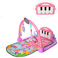 Развивающий коврик для младенца KK2622 с пианино, музыка (рег. громкости), свет, 940*500 мм
