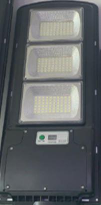 Вуличний ліхтар на стовп з сонячне панеллю R3 VPP (пульт)