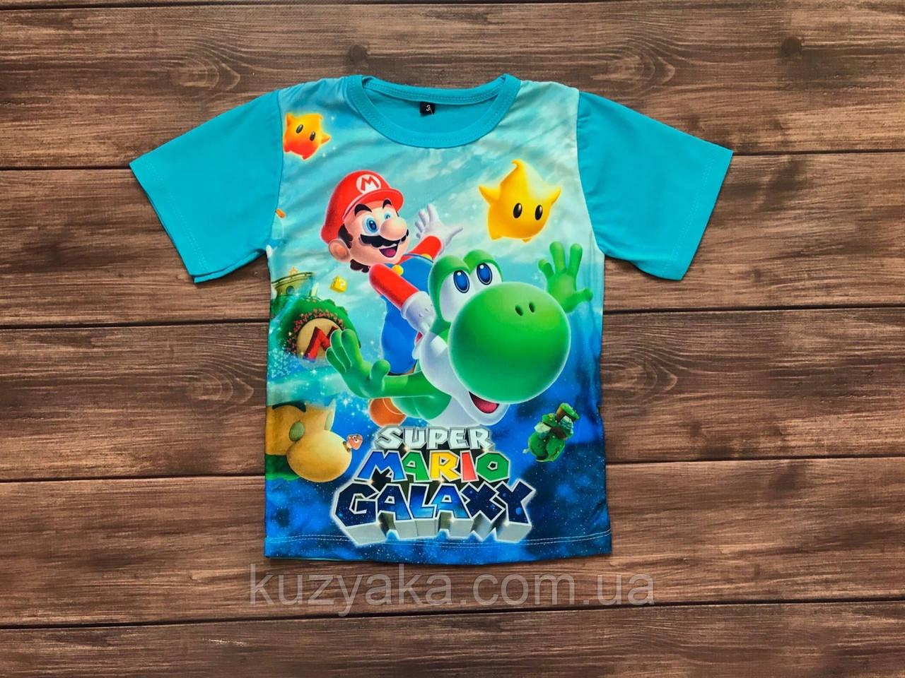 Дитяча футболка для хлопчика Супер Маріо на 1-10 років