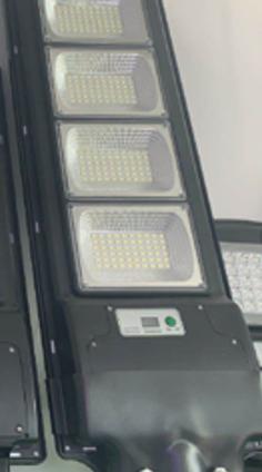 Уличный фонарь на столб с солнечное панелью  R4 4VPP  (пульт)