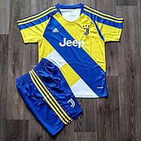 Детская футбольная форма Ювентус/Juventus ( Италия, Серия А ), резервная, сезон 2021-2022