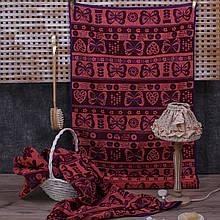 Рушник махровий ТМ Речицький текстиль, Літній мотив 67х150 см