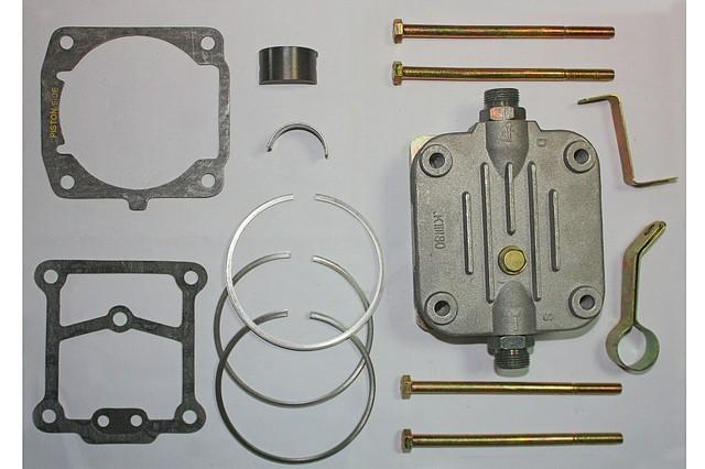 Головка, шатун, кольца, вкладыши компрессора, км-т прокладок компрессора  на  LPT613, Эталон, I-VAN