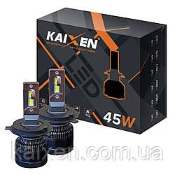 Светодиодные лампы H4 KAIXEN K7 (45W-6000K-CANBUS)