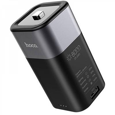 Внешний аккумулятор Power Bank Hoco J24 Cool energy 8000mAh Серый