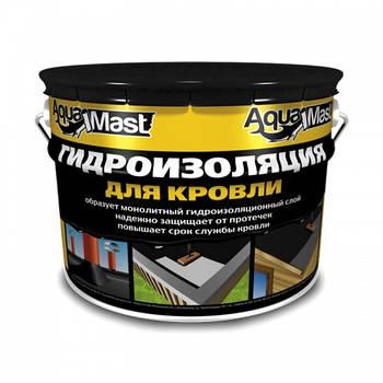 Мастика бітумно-резинова AquaMast, 10 кг 398055
