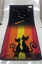Полотенце махровое ТМ Речицкий текстиль, В тишине 67х150 см