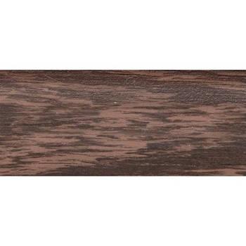 Плінтус ТІС Венге з гумкою 2,5 м (0004)