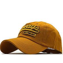 Бейсболка New York - Mustard