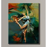 """""""Балерина"""" Картина на холсте для интерьера"""