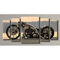 """Harley-Davidson"" Модульная картина на холсте для интерьера"