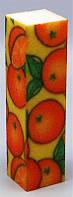 Баф четырехсторонний фрукты 10 шт в упаковке, баф полировочный YRE BF-01, красивые бафики для ногтей