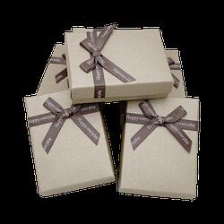 Коробочка подарункова 90x70x25 Бежевий