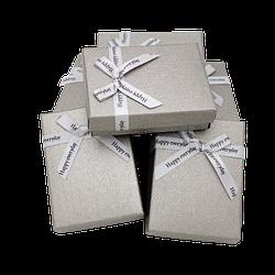 Коробочка подарункова 90x70x25 Сірий