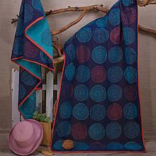 Рушник махровий ТМ Речицький текстиль, Захід у моря 81х160 см