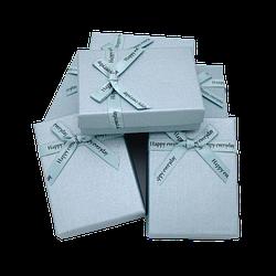 Коробочка подарункова 90x70x25 Блакитний