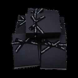 Коробочка подарункова 90x70x25 Чорний