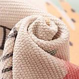 Безкоштовна доставка! Ретро богемний килимок ручної роботи з бахромою, фото 9