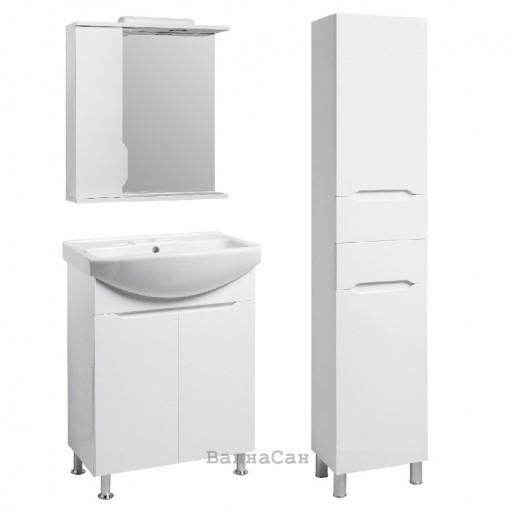 Комплект меблів ванний гарнітур 65 см з фурнітурою KRONAS КВЕЛ ВІСЛА 22217 - 18913 - 19872