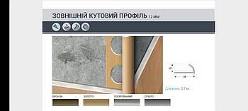 Профіль НАП-12S срібло 2,7 м