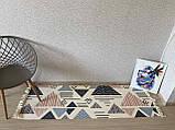 Бесплатная доставка! Ретро богемный коврик ручной работы с бахромой, фото 4