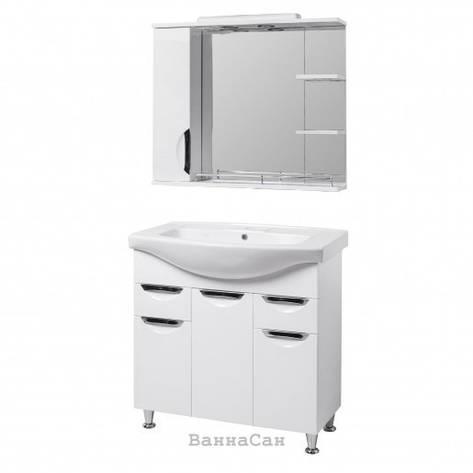 Комплект мебели для ванной тумба 85 см КВЕЛ ГРАЦИЯ 19481 - 18928, фото 2