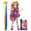Кукла Пинки Пай пони Девушки Эквестрии Стильные прически.My Little Pony Equestria Girls Pinkie Pie