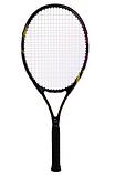 Ракетка для великого тенісу Boshika O87 FDSO Чорний, фото 2