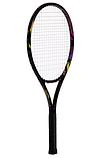 Ракетка для великого тенісу Boshika O87 FDSO Чорний, фото 3