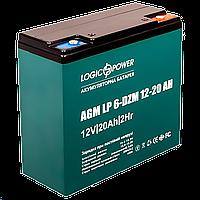 Тяговый свинцово-кислотный аккумулятор LP 6-DZM-20 Ah (2020)