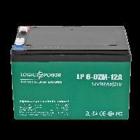 Тяговый свинцово-кислотный аккумулятор LP 6-DZM-12 Ah - под Болт М5 (2020)