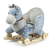 Конячка-качалка з коліщатками Kinderkraft Gray 5902533908134