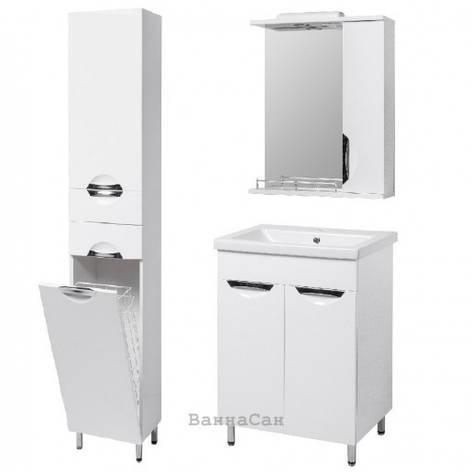 Комплект мебели ванный гарнитур 50 см эмаль Квант ГРАЦИЯ 19479 - 18958 - 22474, фото 2